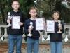 Siegerehrung Mittelfränkische Meisterschaft Schach U14 2013